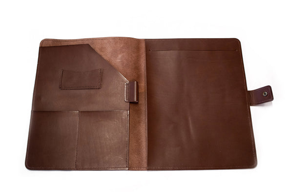 THE SYLVESTER LEATHER PADFOLIO