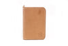 QUINTON VERTICAL BIFOLD WALLET - NATURAL