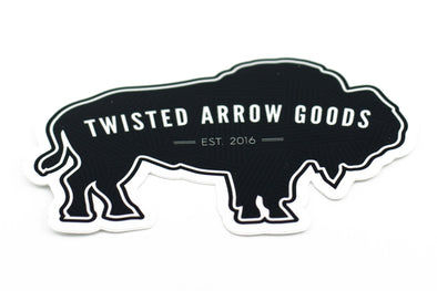 BUFFALO STICKER-Twisted Arrow Goods