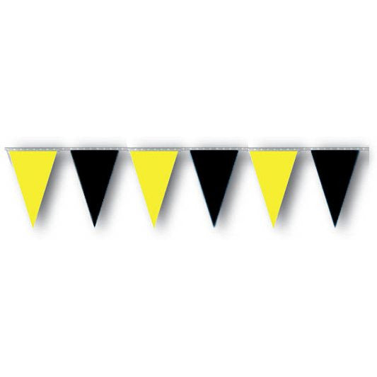 Black & Yellow Pennants