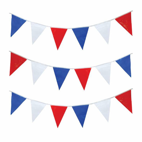 Red White & Blue Pennants