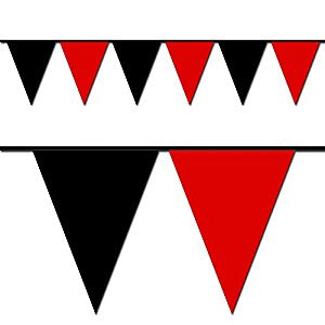 Red & Black Pennants