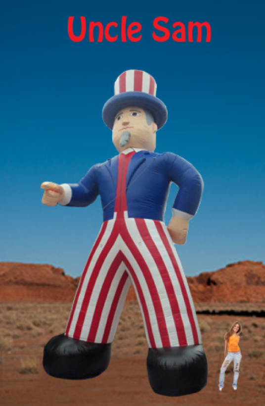 Inflatable - Uncle Sam 26'