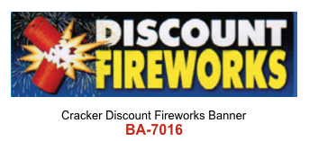 Cracker Discount Fireworks Banner