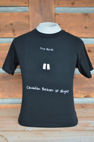 """Canadian Beaver at Night"" Tee"