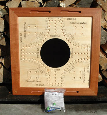 Canadian Handmade Wooden Tock Game