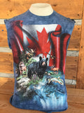 """Canada, The Beautiful"" T-Shirt"