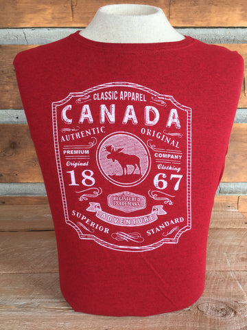 """Canada-Classic Apparel"" Women's T-shirt"