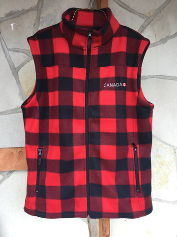 """Men's Plaid Vest"""