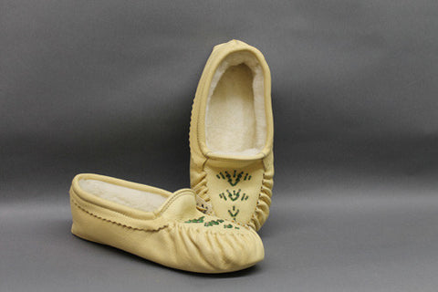 Deerhide, Sheep Lining, Padded Sole