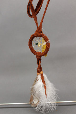 "1.5"" Suede with Feathers"