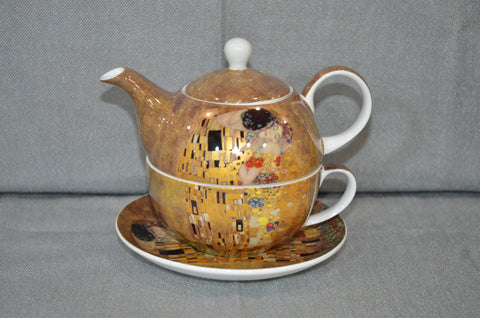 Guztav Klimt 'The Kiss' Tea For One