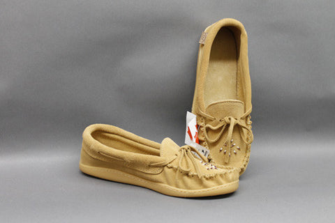 Moose Tan with Rubber Sole