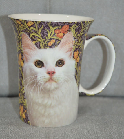 McIntosh 'White Cat' Crest Mug