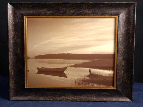 """Sleeper-Misty Morning"" Framed 19"" x 19"" Print"