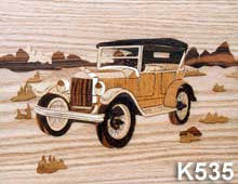 """Antique Ford"" Marquetry Kit"