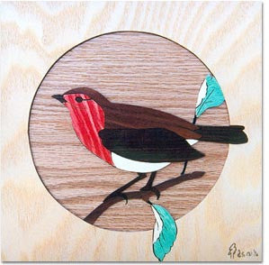 """Robin"" Marquetry Kit"