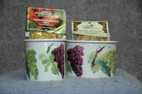 Wine Country 2pc dip chiller
