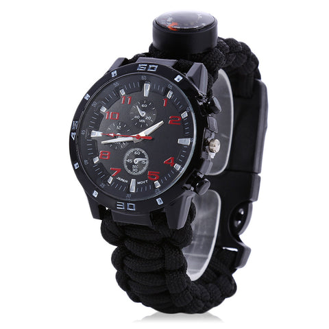 High Quality Multifuctional Paracord Watch - gotothread
