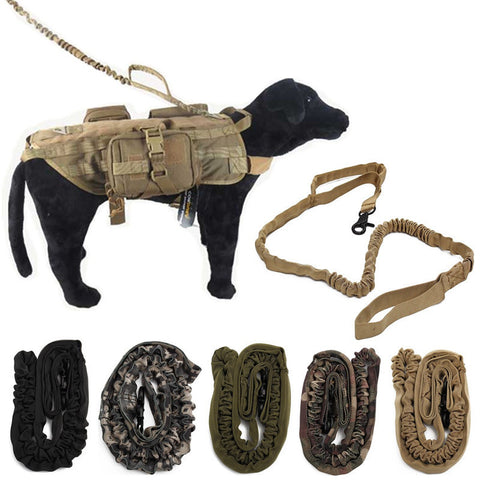 1000D Nylon Bungee Dog K9 Training Leash