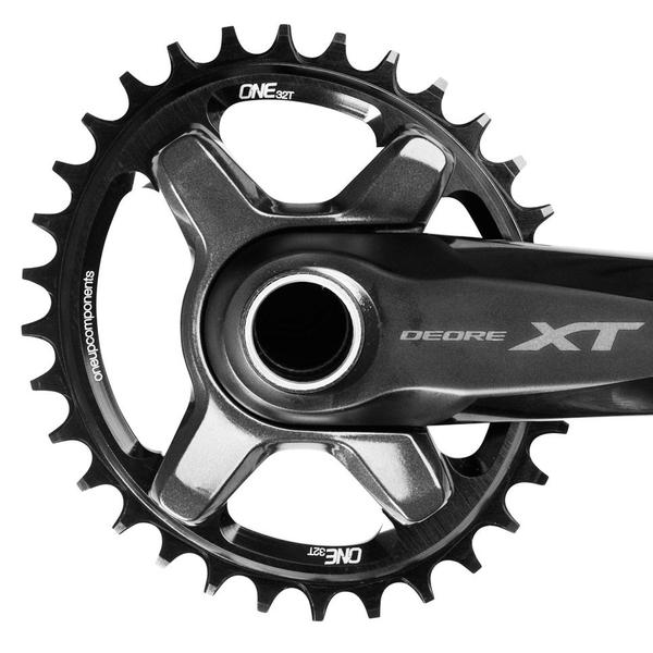 ONE UP CHAINRING - OVAL 96X32T - XT - BLACK