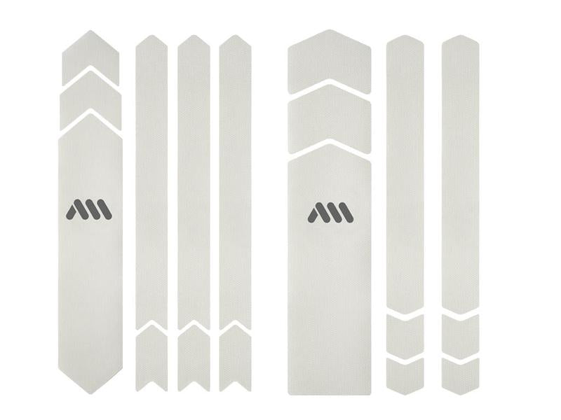 ALL MOUNTAIN STYLE HONEYCOMB FRAME GUARD (FULL) CLEAR/SILVER