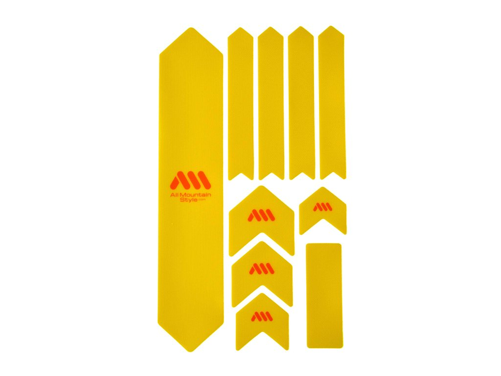 ALL MOUNTAIN STYLE HONEYCOMB FRAME GUARD (XL) YELLOW