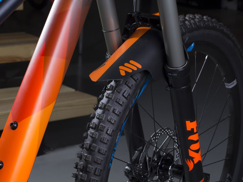 ALL MOUNTAIN STYLE MUD GUARD ORANGE