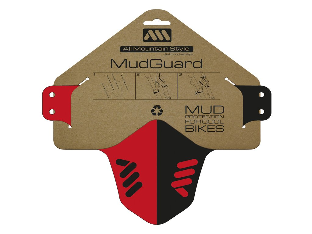 ALL MOUNTAIN STYLE MUD GUARD RED