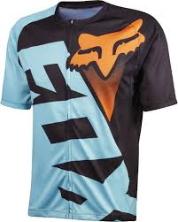 FOX JERSEY LIVEWIRE SS [AQUA/ORANGE] 2016