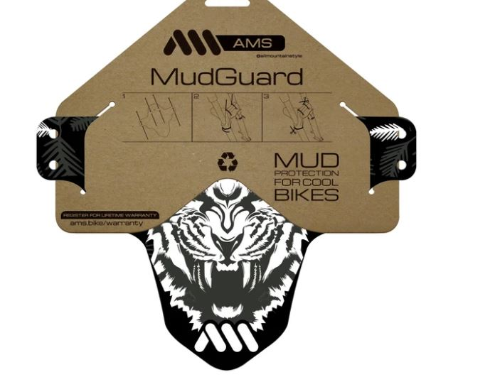 ALL MOUNTAIN STYLE MUD GUARD HAPPY RIDINGS/TIGER