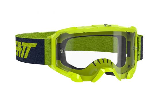 LEATT GOGGLE VELOCITY 4.5 NEON LIME CLEAR 83% [2020]