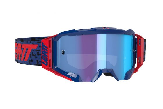 LEATT GOGGLE VELOCITY 5.5 IRIZ ROYAL BLUE 49% [2020]