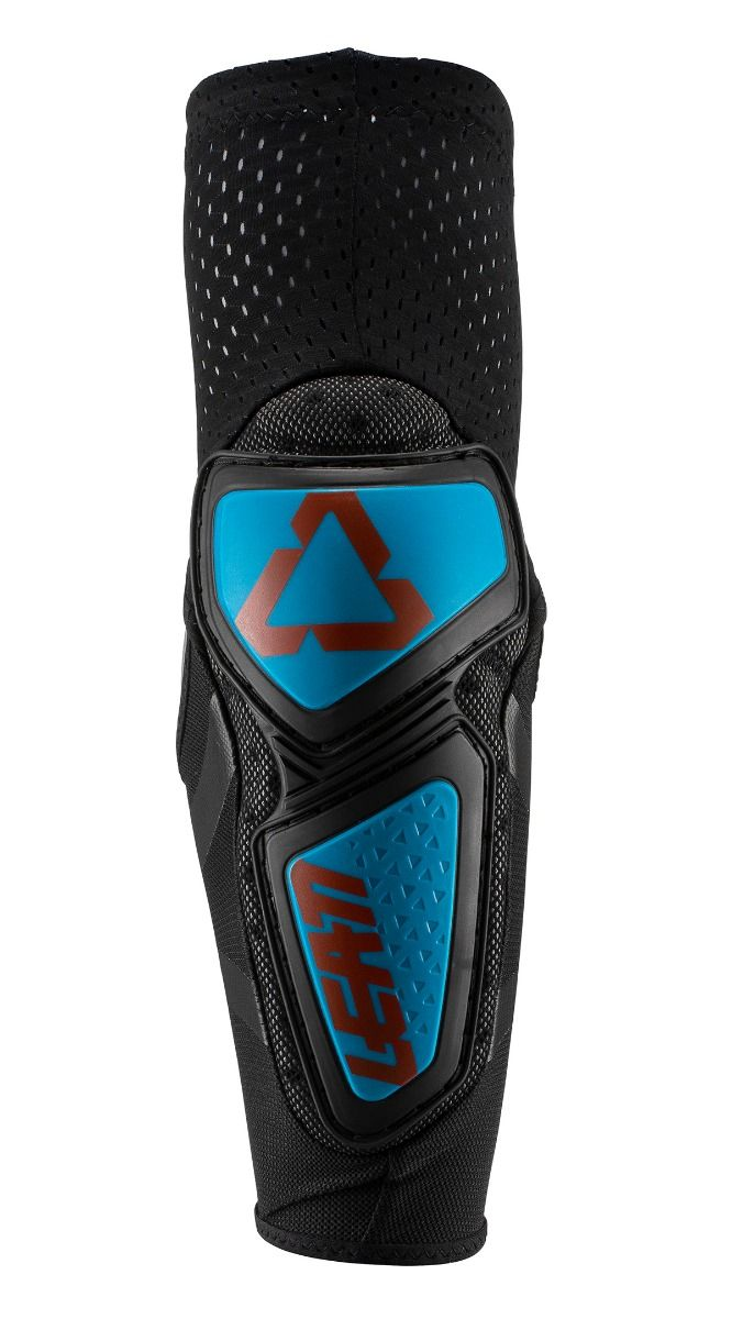 LEATT ELBOW GUARD CONTOUR FUEL/BLACK [2019]