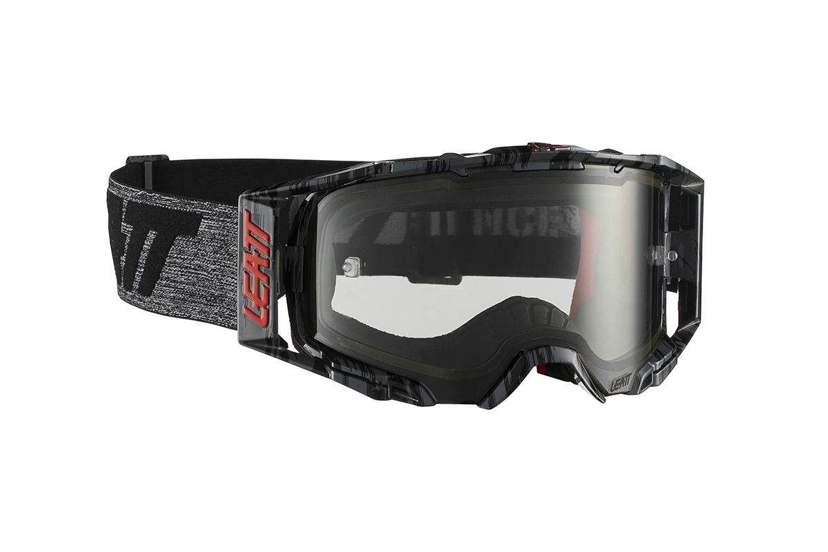 LEATT GOGGLE VELOCITY 6.5 BRUSHED/GREY LIGHT GREY 72%