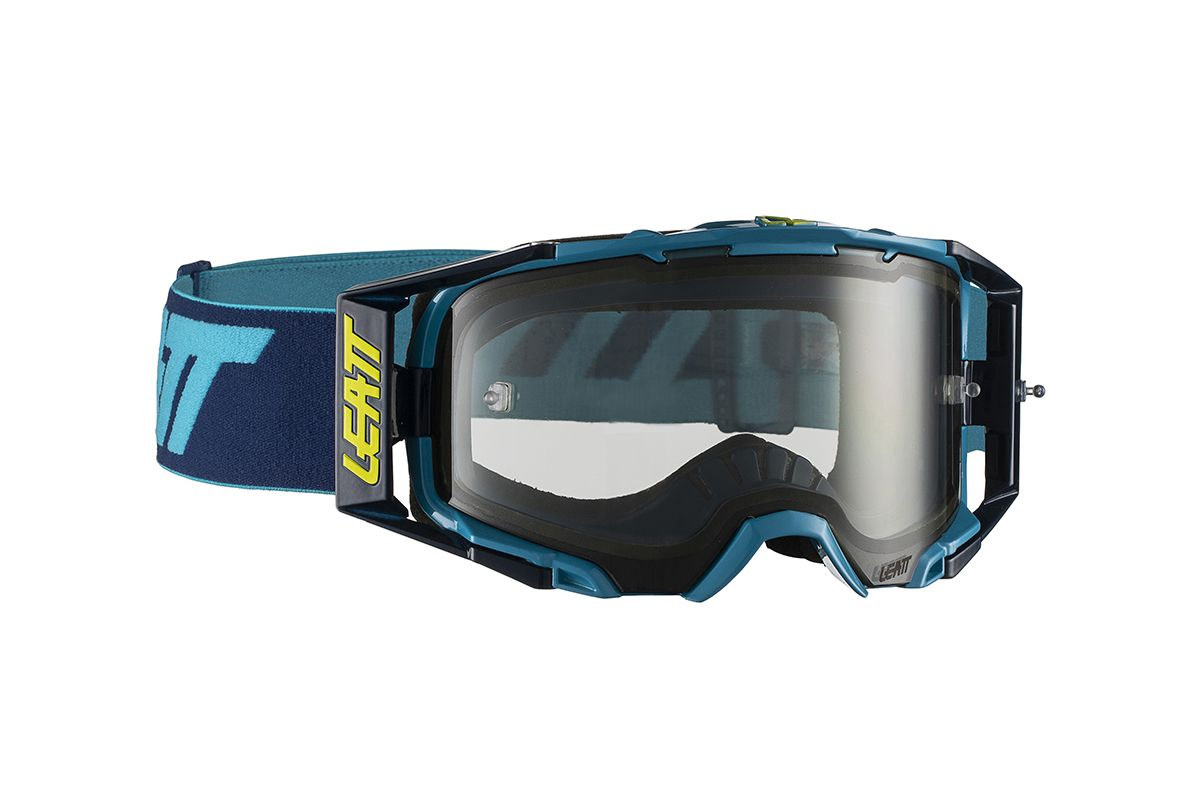 LEATT GOGGLE VELOCITY 6.5 INK/BLUE LIGHT GREY 72%