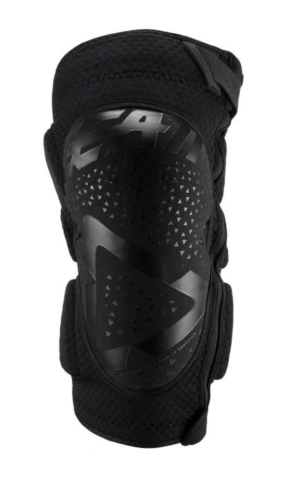 LEATT KNEE GUARD 3DF 5.0 ZIP [BLACK] 2019