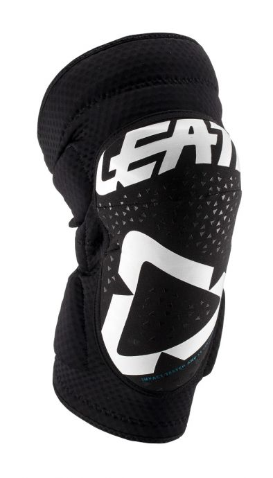 LEATT KNEE GUARD 3DF 5.0 ZIP [WHITE/BLACK] 2019
