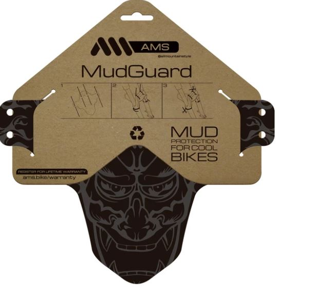 ALL MOUNTAIN STYLE MUD GUARD DEVIL GREY