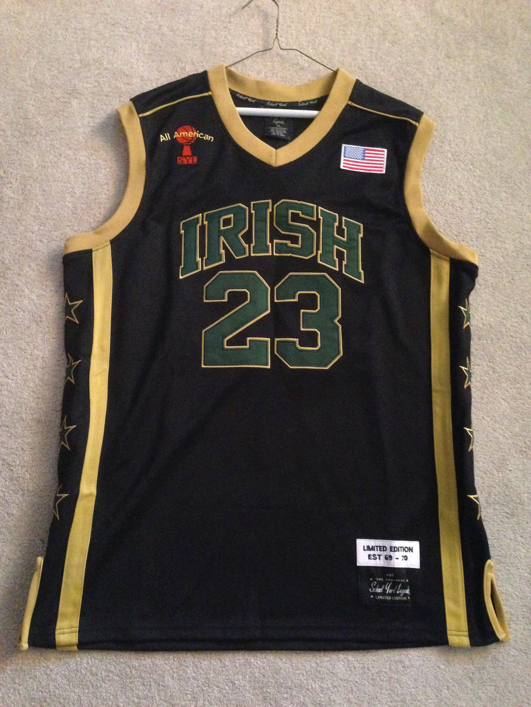 innovative design 184a6 03ea6 lebron james svsm jersey