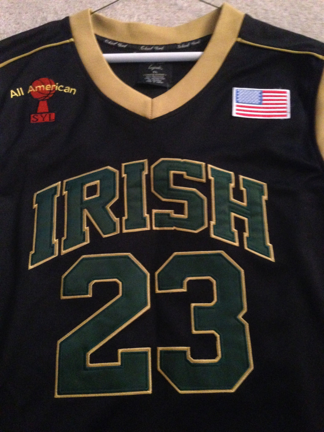 newest be56c a416c SchoolYardLegends St. Vincent–St. Mary HS Irish Lebron James ...