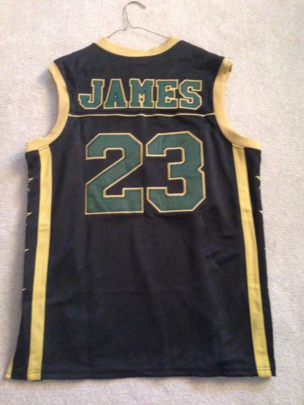 newest 4849f da54c SchoolYardLegends St. Vincent–St. Mary HS Irish Lebron James ...