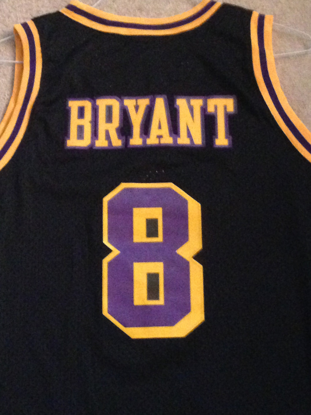 finest selection 9add4 6feb9 Nike LA Los Angeles Lakers Kobe Bryant #8 Road Rewind NBA ...