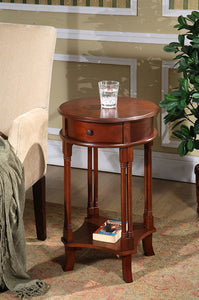 ROUND ACCENT TABLE -   - Magneta Brand