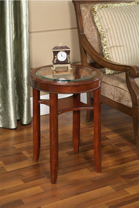 GLASS TEA TABLE -   - Magneta Brand