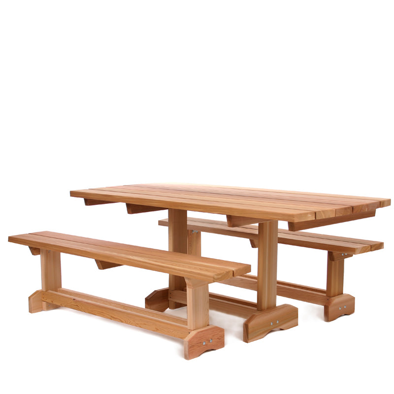 3 pc. Market Table ( 8 person) -  Outdoor - Magneta Brand