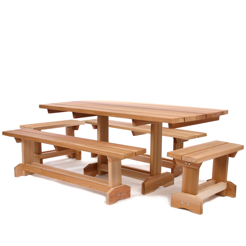 5 pc. Market Table (10 person) -  Outdoor - Magneta Brand