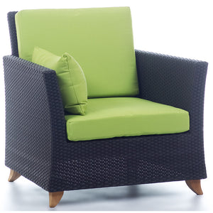 Rattan Deep Seating Arm Chair -  Outdoor - Magneta Brand