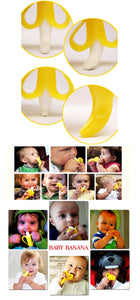 Funny Banana Toothbrush for the baby - Get baby to like brushing - healthy teeth - prevent cavities -   - Magneta Brand