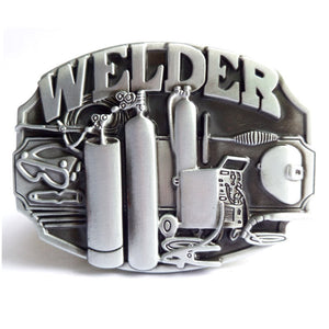 Welder Belt Buckle For Those who are proud of their Craft -   - Magneta Brand
